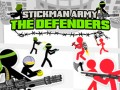 Mängud Stickman Army: The Defenders
