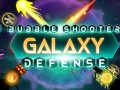 Mängud Bubble Shooter Galaxy Defense