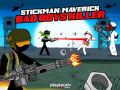 Mängud Stickman Maverick: Bad Boys Killer